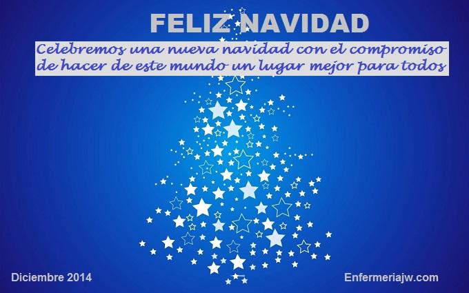 feliz navidad enfermeriajw