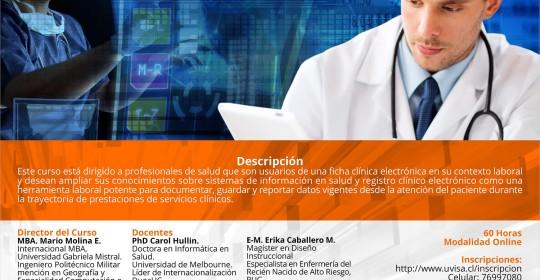 Registro electrónico de salud (eLearning)