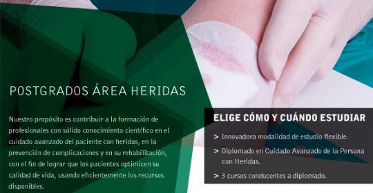 ¡Postula hoy! – Diplomado de Enfermería en Cuidado Avanzado de la Persona Con Heridas – Uandes