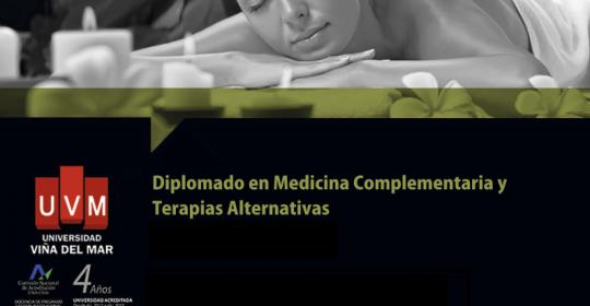 Diplomado en Medicina Complementaria y Terapias Alternativas.