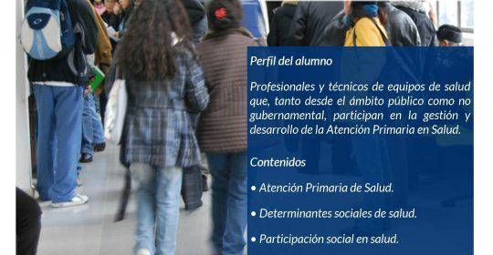 """XXVIII Seminario de Atención Primaria de Salud: """"Enfrentando los nuevos desafíos"""""""