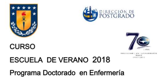 Cursos de Verano 2018 Universidad de Concepción