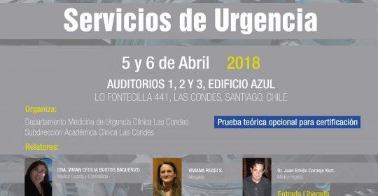 Curso Medicina Legal para Servicios de Urgencia