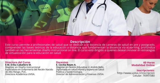 E learning para profesionales de salud (eLearning)