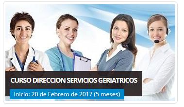 CURSO DIRECCIÓN DE SERVICIOS GERONTOLÓGICOS -Formación Muntimedial Online (por internet) para directivos, encargados y emprendedores