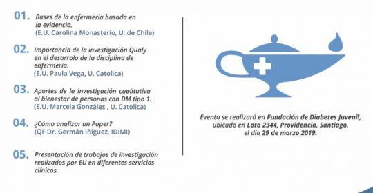 Jornada Enfermería basada en la evidencia: fortaleciendo la disciplina a través de la investigación.