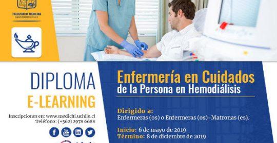 3ª versión del Diploma E- Learning Enfermería en Cuidados de la Persona en Hemodiálisis