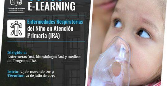 Curso E-Learning Enfermedades Respiratorias del Niño en Atención Primaria (IRA)