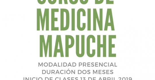 Curso de Medicina Mapuche