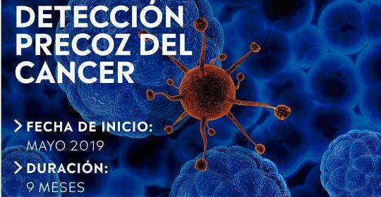 Diplomado en Oncología: prevención y detección precoz del cáncer